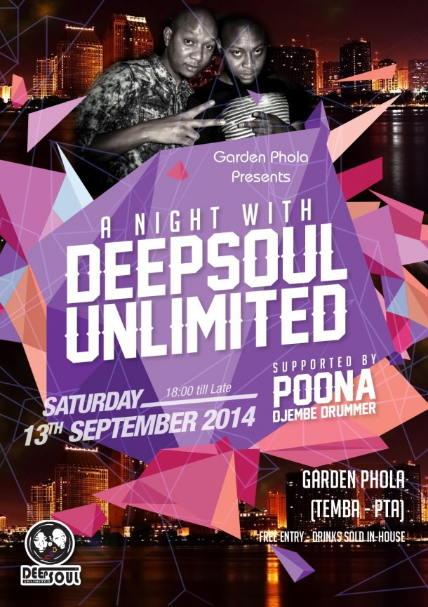 """A Night With DeepSoul Unlimited – GardenPhola """"13 Sept 2014"""""""