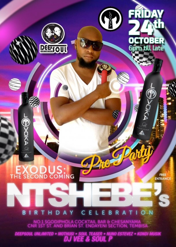 "DeepSoul Unlimited ""Ntshebe's Pre-Birthday Party @No1Sgodiphola"