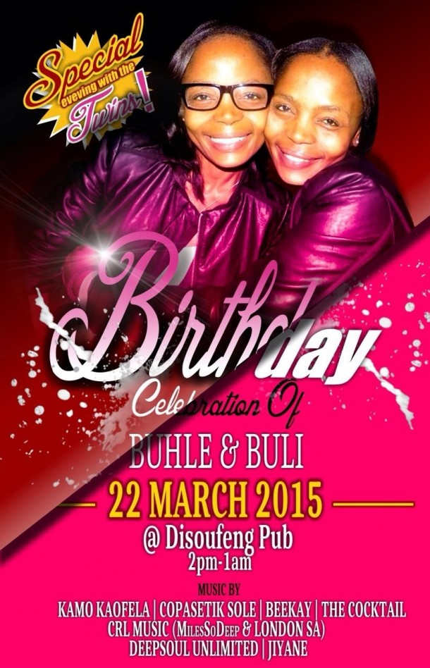 ::Special Evening with Buhle & Buli