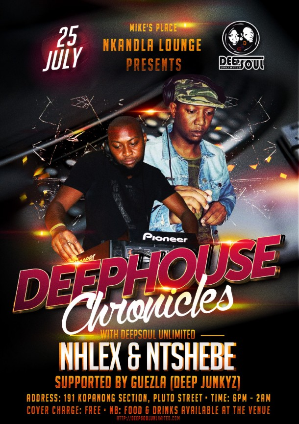 ::DeepHouseCronicles – Mike'sPlace 25 July 2015::