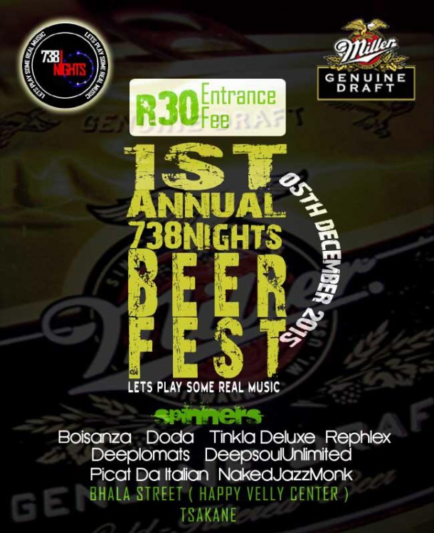 #738Nights 1st Annual Beer Fest 05.12.2015