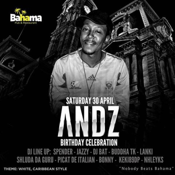 ..::Andz's Birthday Celebration – 30 April @Bahamabar::..