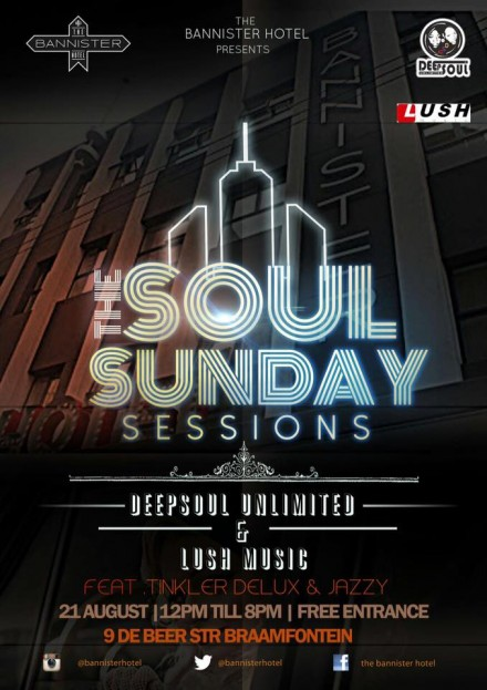 ..::The Bannister Hotel Sunday Soul Sessions ft. TINKLA & JAZZY – 21082016::..