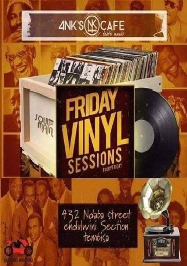 4NK's Cafe – Friday Vinyl Sessions