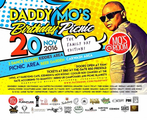 ..::Daddy Mo's Birthday Picnic – 20 Nov. 2016::..