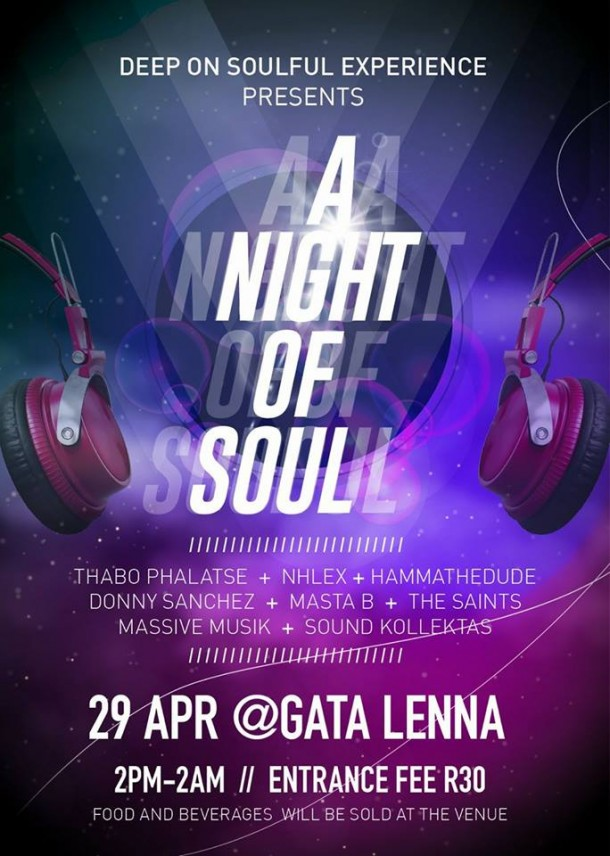DeepOn Experience, A NightOf Soul – 29 April 2017