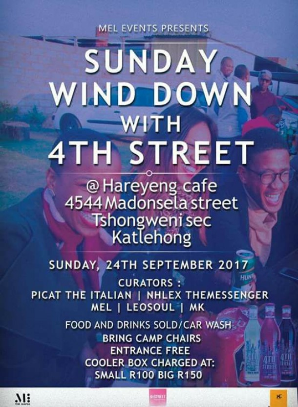 SundayWindDown with 4th Street – 24.09.2017 @Hareyeng Cafe