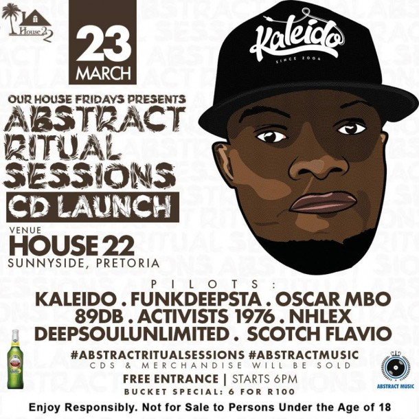 #OurHouseFridays Pres. #AbstructRitualSessions CD Launch – 23.03.18