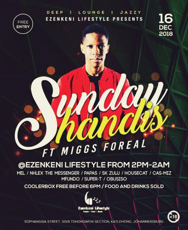#ShandayShandis 16 Dec.2018 Feat. Miggs Foreal